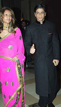 Gauri Khan with SRK