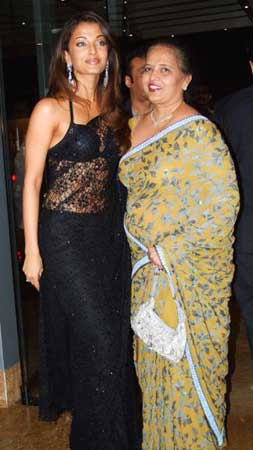 Aishwarya with Brinda Rai