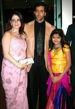 Suzanne with Hrithik