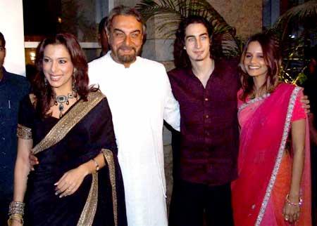 Pooja, Kabir, Adam Bedi with Nisha Harale