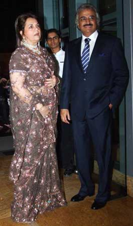 Mumtaaz with Mayur Madhvani
