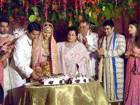 Couple with Brides Parents