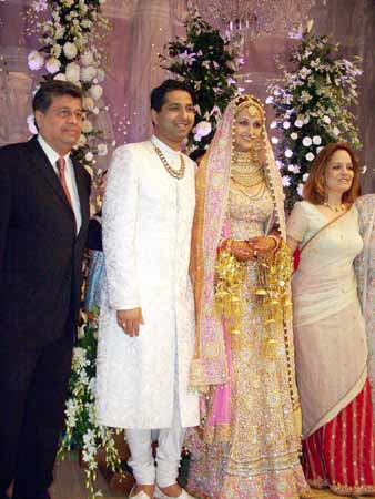 Amisha Patels parents wish the couple