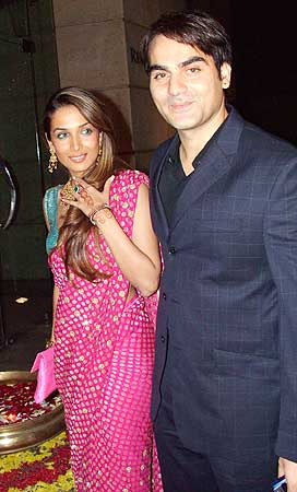 Malaika and Arbaaz Khan