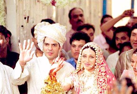 Karishma and Sanjay Kapur