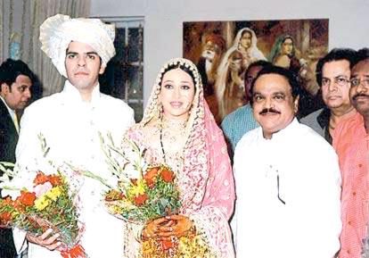 Karishma with Chaghan Bhujbal