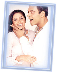 Gautami and Ram Kapoor