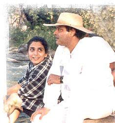 He was a 27-year-old  Sachin Pilgaonkar Marriage Photos