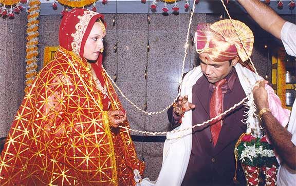 Radha and Rajpal Yadav
