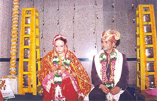 Radha and Rajpal Yadav