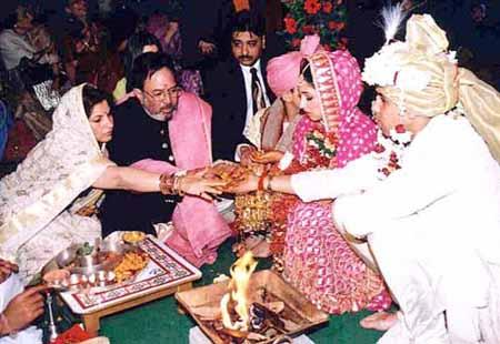 Rajesh Khanna and Dimple