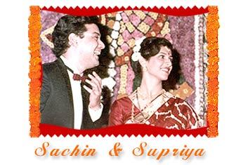 Supriya  amp Sachin Pilgaonkar  Sachin Pilgaonkar Marriage Photos
