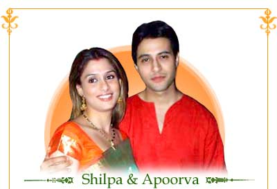 Shilpa Saklani and Apoorva Agnihotri