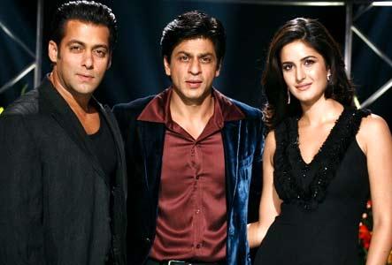 Salman,SRK and Katrina