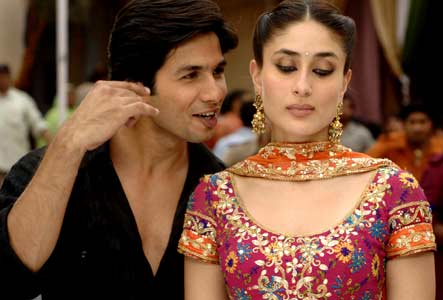 Kareena Kapoor and Shahid Kapur