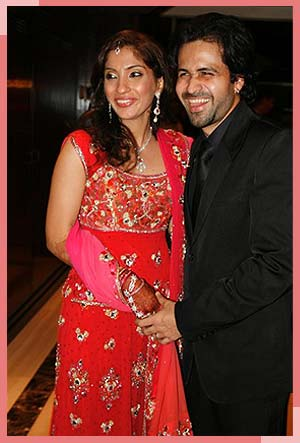 Emraan Hashmi with wife Parveen