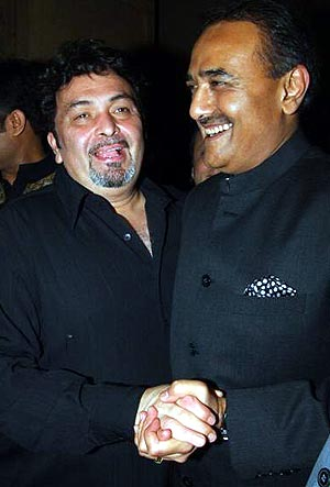 Rishi Kapoor and Praful Patel relive their friendship