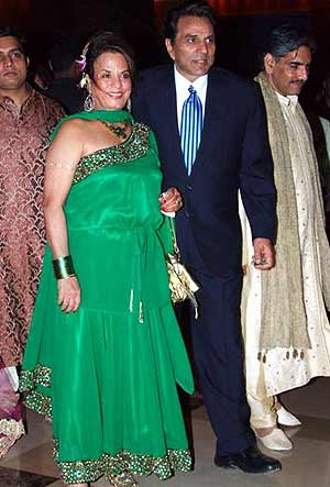 Sundari Khan goes green with Dharmendra