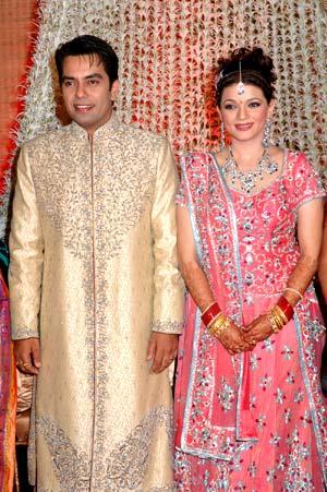Prachee Shah and Vishwas Pandya