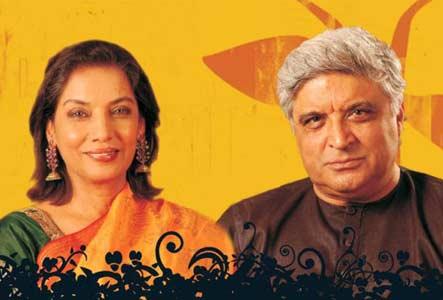 Shabana and Javed Akhtar