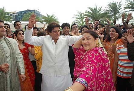 Raj And Nadira Babbar