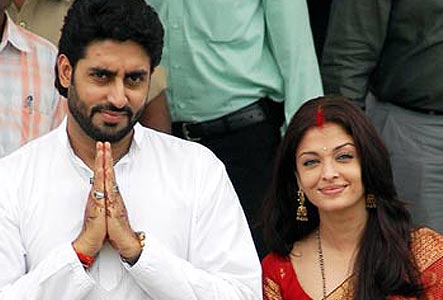 Aishwarya Rai &amp;amp; Abhishek Bachchan