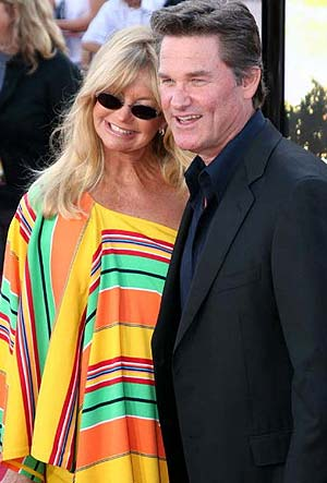 Goldie Hawn &amp;amp; Kurt Russell