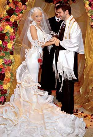 drapery wedding ceremony