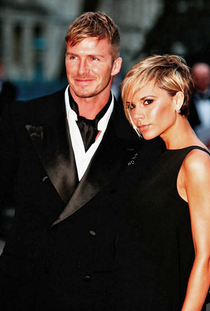 Victoria &amp;amp; David Beckham