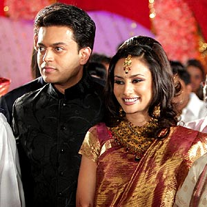 President Patil Attends Deshmukh Wedding