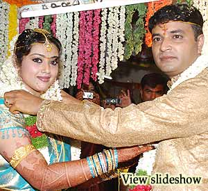 South Indian Actress Meena's Marriage